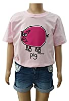 Kids pig T.shirt 7/8 years