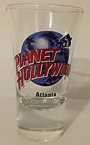 Planet Hollywood Verre à shot Atlanta Collection Verre à shot souvenirs