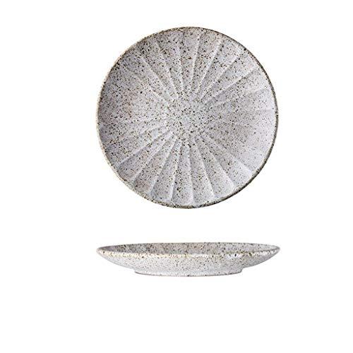 LYLian-plates Persönliche Western Food Platte, Keramik Haushalt Restaurant Blumenmuster Platte Steak Pizza Farbe Platte 23 * 23 * 3 cm Platte (größe : 23 * 23 * 3CM)