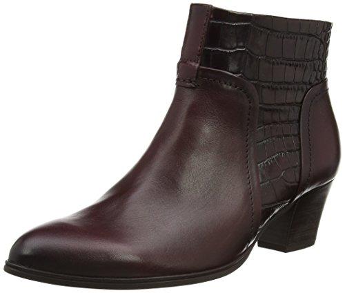 Gabor Shoes 31.68 Damen Kurzschaft Stiefel Rot (wine/vino (Micro) 25)