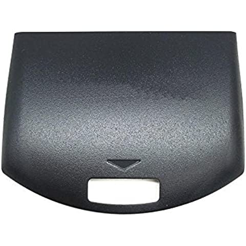 Linyuan Replacement Black Rear Back Panel Housing Battery Cover Door per PSP 1000