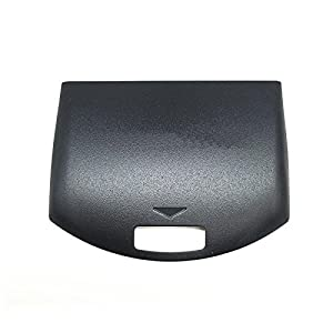 Linyuan Replacement Black Rear Back Panel Housing Battery Cover Door fur PSP 1000