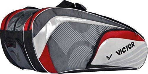 Victor Schlägertasche und Sporttasche, Multithermobag 9037 red, 903/5/7, rot/Grau/Weiß, One Size