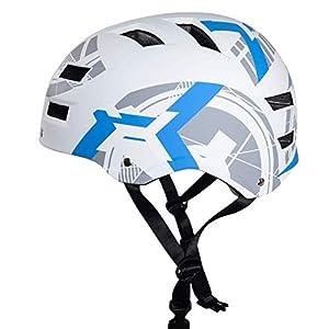 Automoness Skaterhelm, Fahrradhelm Bike Helmet Radhelm Kinderhelm Sporthelm CE-Zertifizierung, 3 Größen für Erwachsene…