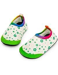 Yorgou Chaussures Aquatiques Enfants Chaussures deau B/éb/é S/échage Rapide Chaussures Aqua pour Piscine Plage Gar/çons Filles