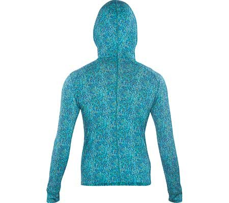 Ibex Outdoor Bekleidung Damen VT Hooded Full Zip Hoody River/Waterfall