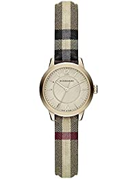 Ladies Burberry el clásico redondo Horseferry Check reloj bu10201