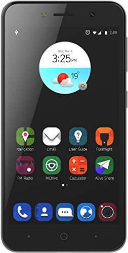 ZTE Blade A520 Smartphone (12,7 cm (5 Zoll) Display, 16 GB Speicher, Dual-SIM, Android 7.0) Silber