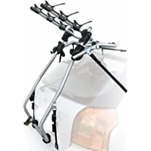 Peruzzo Milano - Portabicicletas trasero de acero inoxidable para 3bicicletas -