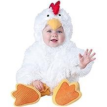 Disfraz de gallina para bebé - Lujo 0-6 meses (50-68)