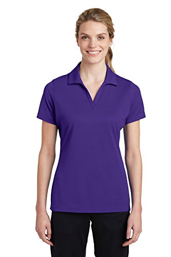 Sport-Tek -  Polo  - Donna Purple