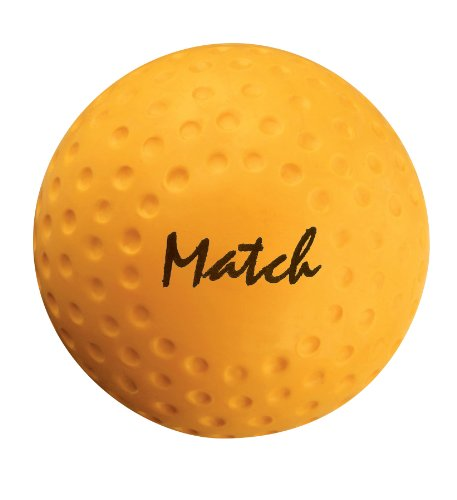 GRAYS Match Hockey Ball - Gelb