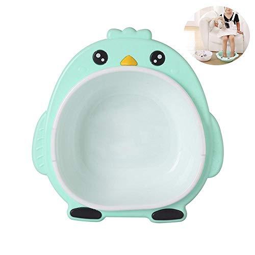FOONEE Babywanne Waschbecken, Double Layer Cartoon Mehrzweckbecken Kinderwaschbecken für zu Hause Badezimmer Gesicht Hand Fuß waschen, Küche Obst Gemüse Becken, Storage Supplies, Safe (Fuß-waschbecken)