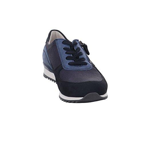 Waldläufer 370013 410 194, Baskets Pour Femme Bleu