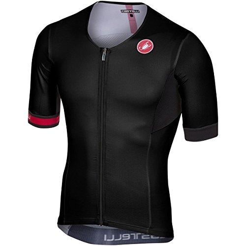 Castelli Free Speed Race Tri Jersey - Men's Black, XXL