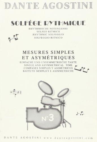 Agostini solfege rythmique 3