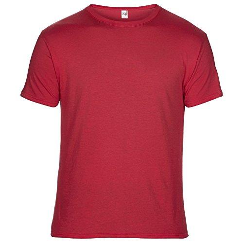 Anvil Unisex T-Shirt, Kurzarm, besonders leicht Rot