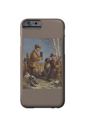 National Sportsman - Two Pheasant Hunters with Dogs Hunting Scene (iPhone 6 Cell Phone Case, Slim Barely There) -