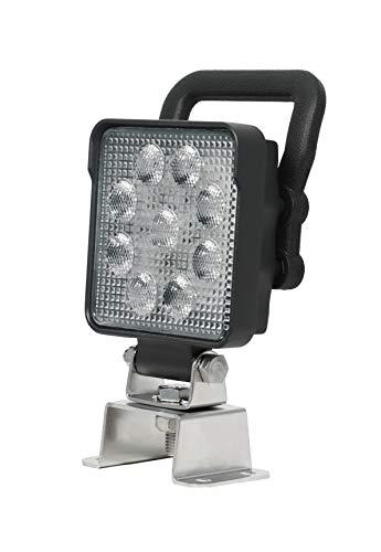 Hella 1GA 357 103-082 Arbeitsscheinwerfer Value Fit LED S1500 LED mit Halter, 12V/24V, 1.500 Lumen, IP 6K9K / IP 6K7 (hochdruckreinigungsfest / tauchfest)