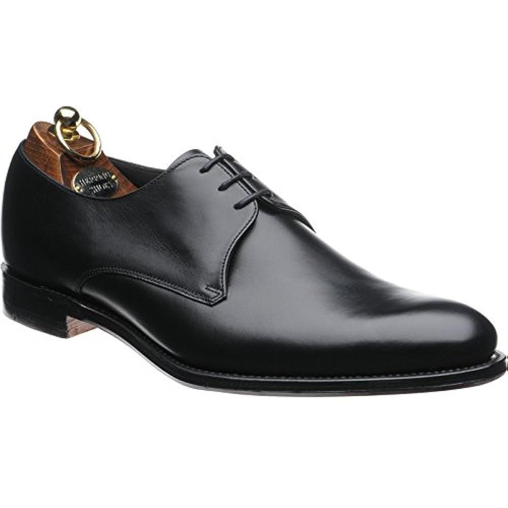 Herring chalcombe Derby Schuh in schwarz Kalb, Schwarz - Schwarz - Größe: 42.5