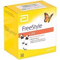 Abbott Freestyle - Tiras de glucosa (50 unidades), color azul