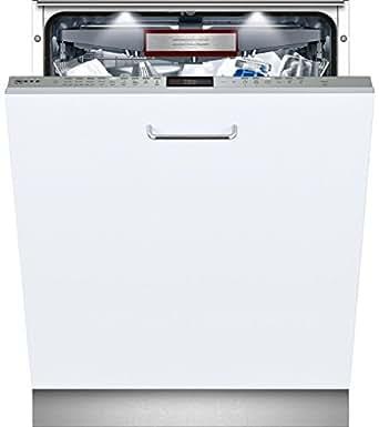 Neff S517T80X1E Entièrement intégré 13places A+++ lave-vaisselle - lave-vaisselles (Entièrement intégré, Acier inoxydable, toucher, TFT, 1,75 m, 1,65 m)