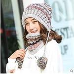 Yukun berretto Berretto in Maglia per Cappello Autunno E Inverno in Maglia di Cotone Invernale Caldo Protezioni per Le Orecchie
