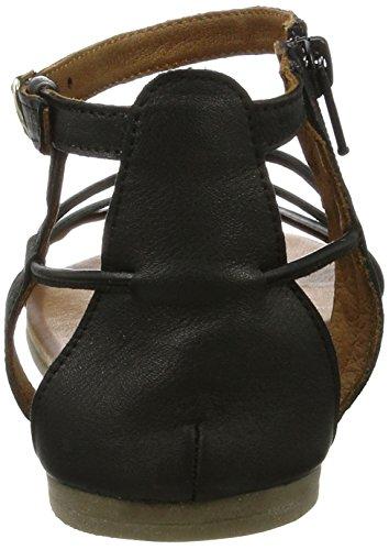 Tamaris 1-28043-28 femmes Sandale Noir (Black 001)