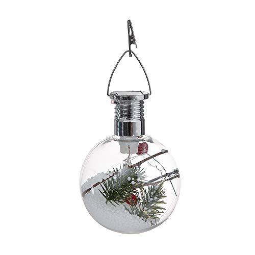 LoveLeiter Weihnachtsaußensonnen-Kupferdraht-kugelförmige Birnen-Suspendierungs-Lampe ()