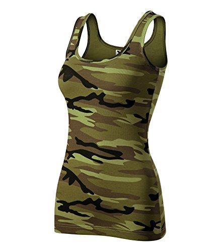 Adler T-Shirt Damentop Triumph Top von Größe und Farbe Wählbar - (XXL, Camouflage Grün) (Baumwolle T-shirt Camouflage)