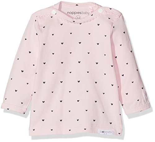 Noppies Baby-Mädchen G Tee ls Nanno-67371 Langarmshirt, Rosa (Light Rose C092), 68