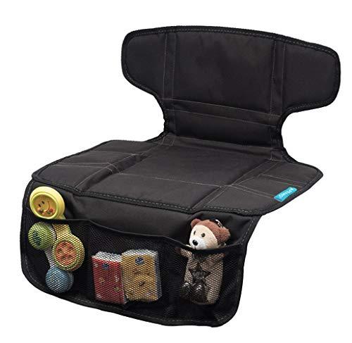 kurz Autositzauflage Kindersitzunterlage,für Sitzerhöhung und Auto-Kindersitzunterlage,Isofix geeignet,der perfekte Schutz für Ihre Autositze