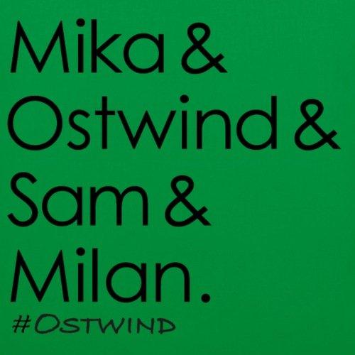 Spreadshirt OSTWIND Aufbruch Nach Ora Mika Sam Milan Stoffbeutel Kelly Green