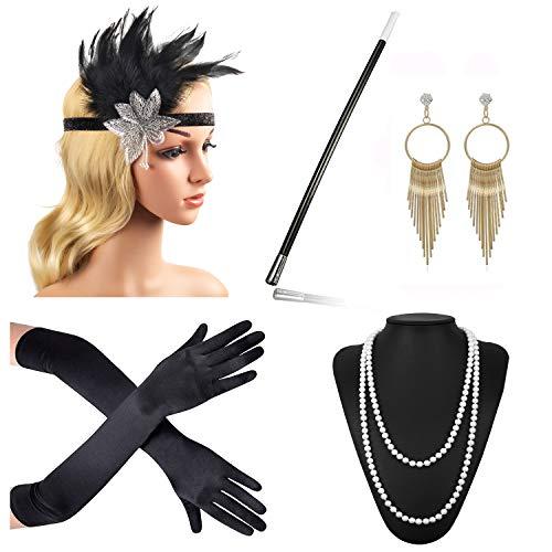Beelittle Zubehör, Haarband, Ohrringe, Halskette, Handschuhe, Zigarettenhalter Gr. Einheitsgröße, B1