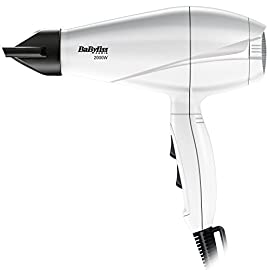 ac motor - 41Z0oc7pGaL - BaByliss Hair Dryer Pro 2000 W – AC Motor – White