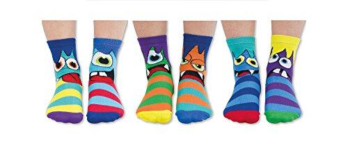 Oddsocks Mini Mashers Socken im 6er Set - Strumpf, Gr. 27-30,5