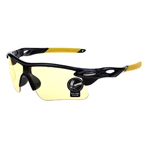 utzbrille Glaser Radfahren Bike Sport Fahren Angeln Sonnenbrille C3 (Motorrad-nachtsicht)