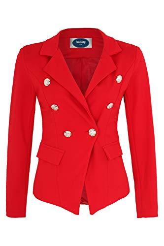 Apparel - Outlet 4tuality® Blazer Zweireiher Gr. XXL Rot