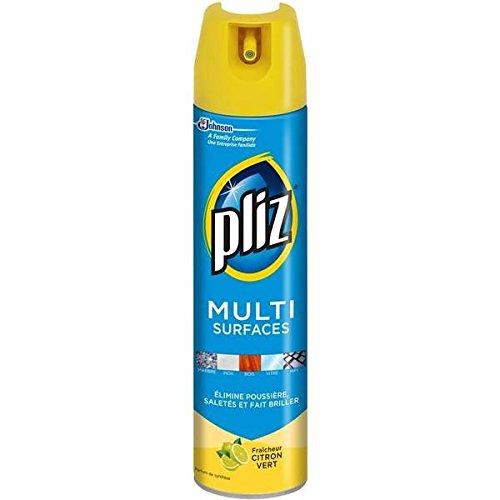 pliz-aerosol-nettoyant-multi-surfaces-5en1-citron-vert-250ml-envoi-rapide-et-soignee-prix-par-unite-