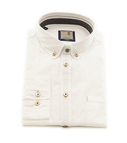 Seidensticker -  Camicia classiche  - Basic - Con bottoni  - Uomo Bianco
