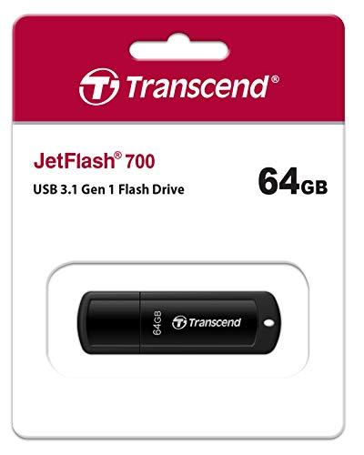Transcend 64GB JetFlash 700 USB 3.1 Gen 1 USB Stick TS64GJF700