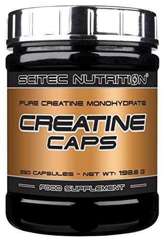 Scitec Nutrition Creatine Caps, 250 Capsule