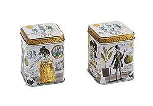 Elite Gift Boxes Boîte carrée à thé 'Tea'