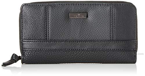 TOM TAILOR für Frauen Taschen & Geldbörsen Damenbörse Juna schwarz/black, OneSize