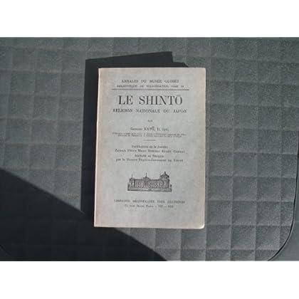 Le Shinto: Religion Nationale du Japon