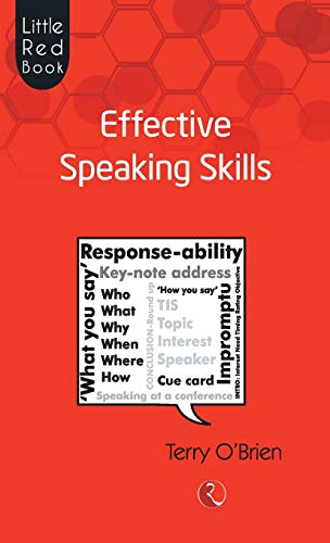 Little Red Book Of Effective Speaking Skills por Terry O' Brien