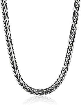 Trollbeads Damen-Halskette, Sterling Silber, ohne Verschluss 80 cm TAGNE-00009