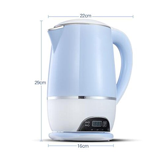 Kettle FEIFEI Electric Blue 1500W 1.8L 29 * 22 * 16cm Anti-dry Easy to move