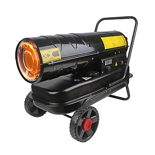 El queroseno calentador diesel, el calentador industrial protección contra sobrecalentamiento doble...