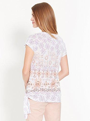 Secrets de mode - Tee-shirt noué Imprime